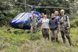 Equipe de la mission Itoupé 2021 © H. Delvaux