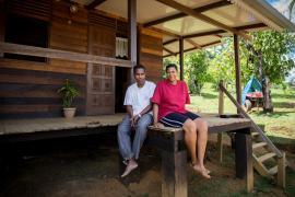 Euridice et Samue de Saül, habitants investis  © Claudia Berthier PAG