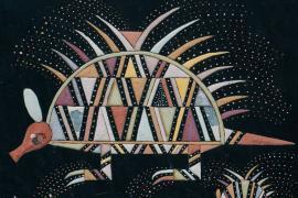 Motif de Tiwan Couchili © Imprégnation mercurielle.