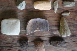 Vestiges archéologiques à Saül