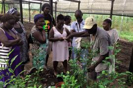Voyage d'études d'agriculteurs © Sarah Ayangma / PAG