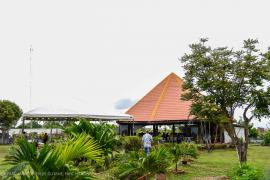 The benab where the first two days of the workshop took place in Lethem.  © Claudia Berthier PAG