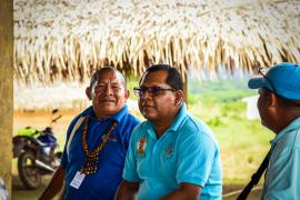 Participants during the plenary sessions in nappi village © Claudia Berthier PAG